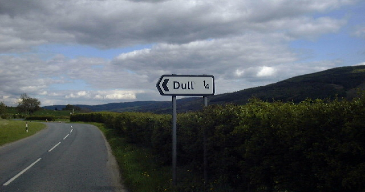 Dull sees exciting prospects with Boring.</p>