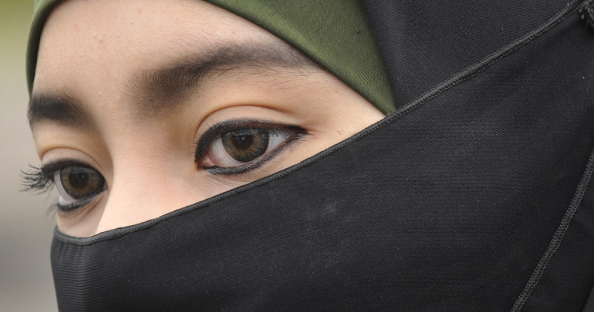 The Dutch government said it will introduce a law next week banning head coverings such as birqas.</p>