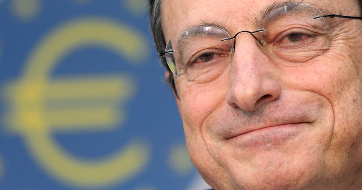You can't always get what you want but if you try sometimes Mario Draghi will give you what he thinks you need:  in this case, cheap loans to the euro zone's cash strapped banks.</p>