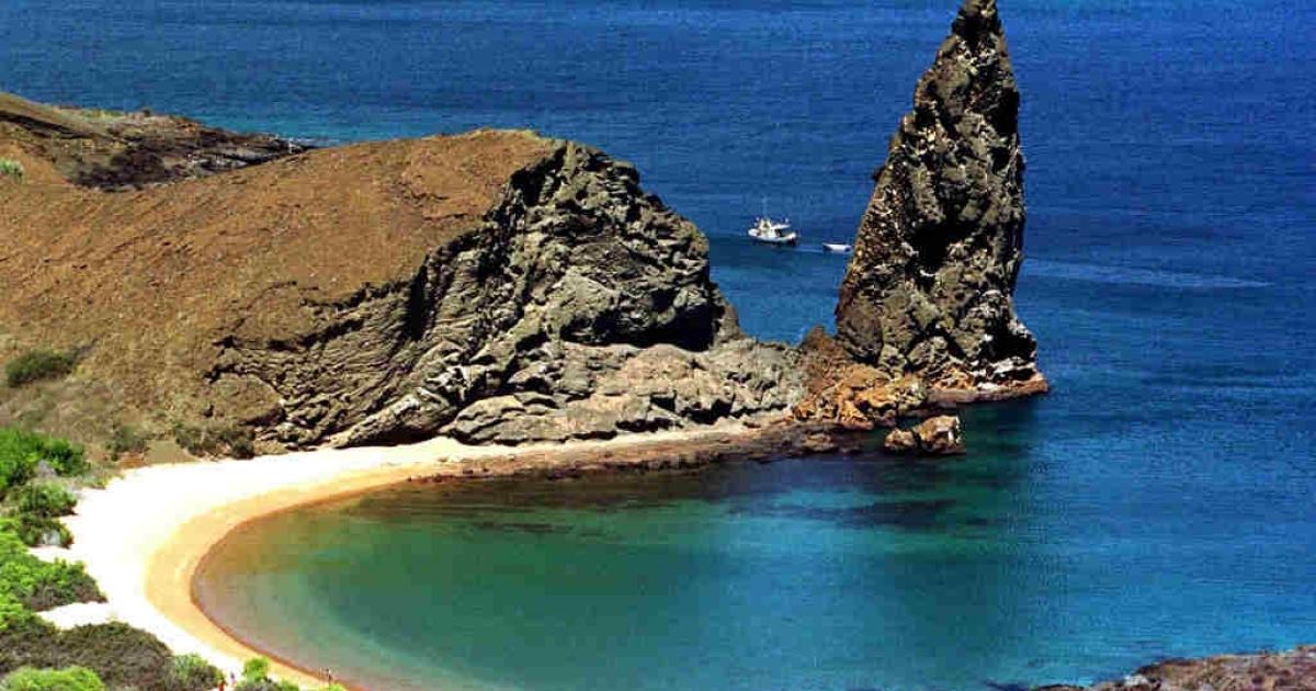 The Galapagos Islands of Ecuador.</p>