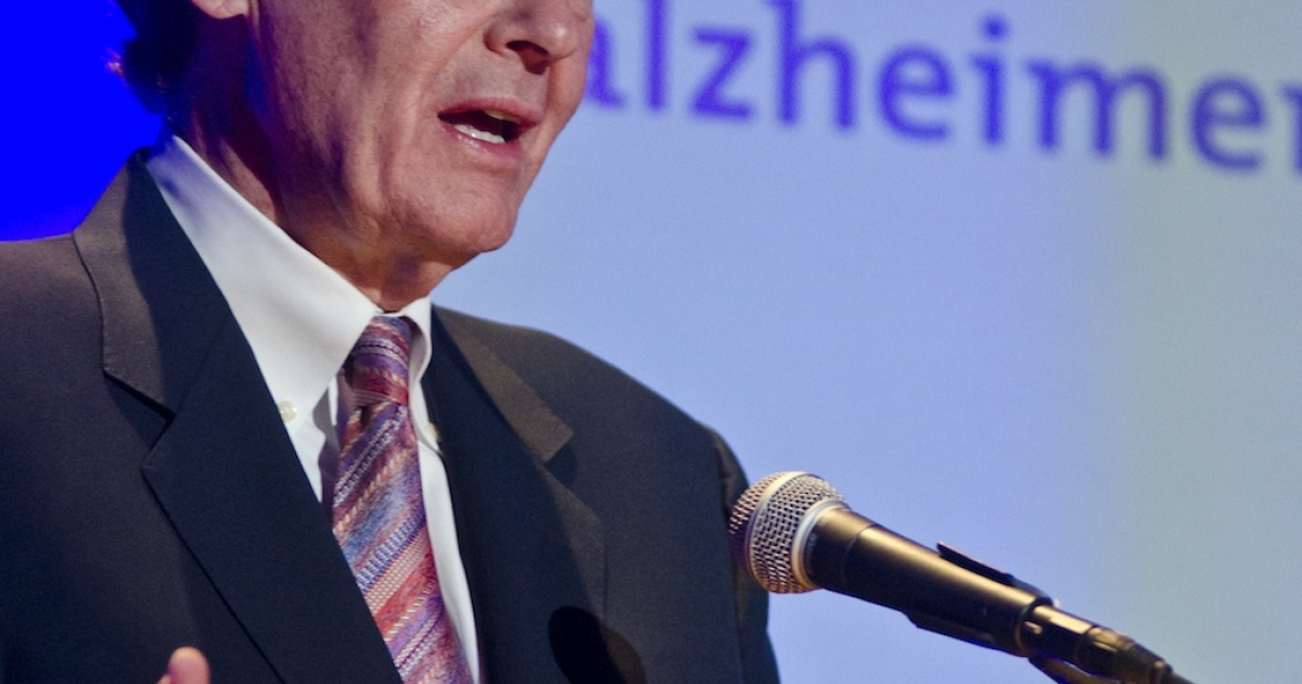 Representative Ed Markey (D-Mass) speaks during the Alzheimer's Association Evening with Glen Campbell at The Library of Congress on May 16, 2012 in Washington, DC.</p>