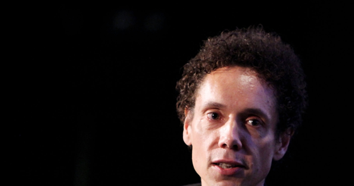 Journalist Malcolm Gladwell speaks at the 2010 New Yorker Festival in New York City.</p>