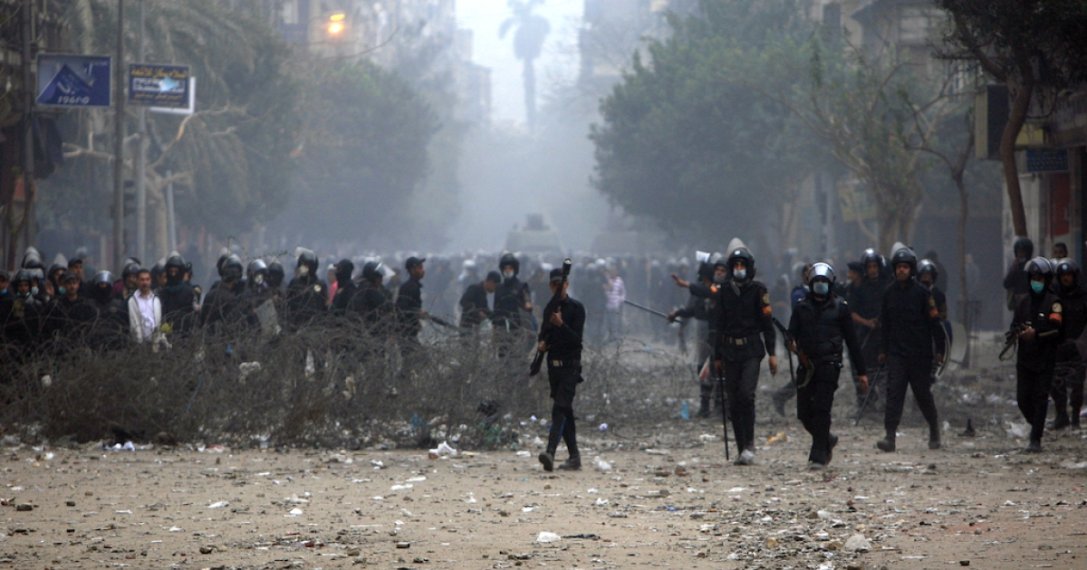 An Egyptian parliamentary committee suggested moving the country's interior ministry to another location to help prevent clashes in downtown Cairo, near Tahrir Square.</p>