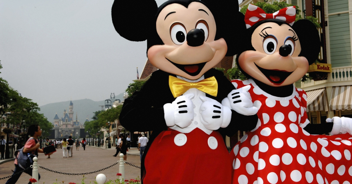 Mickey and Minnie Mouse. An Egypt Christian telecom mogul, one of the country's richest men, has been accused of mocking Islam after tweeting cartoons of Mickey and Minnie in conservative Muslim dress.</p>