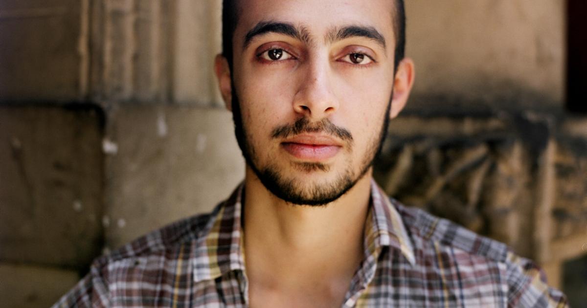 Ahmed Awadallah, Egyptian activist and blogger in Cairo, May 2012.</p>