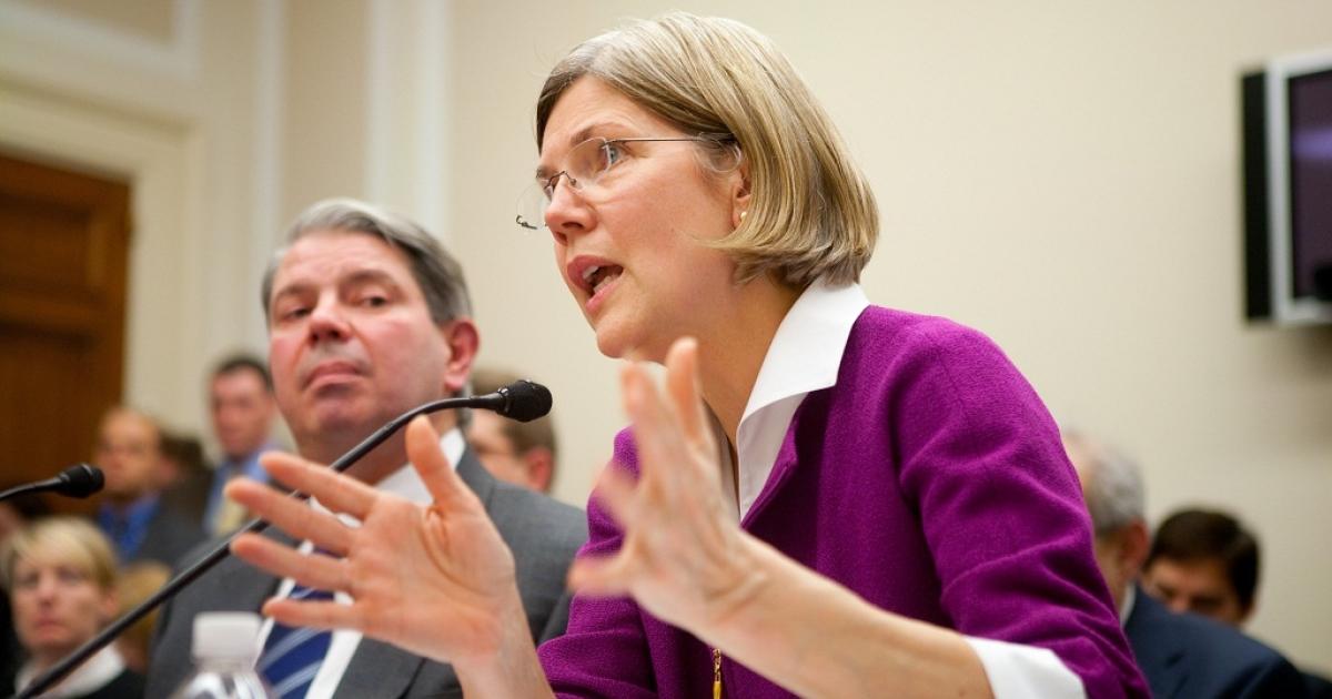 Elizabeth Warren</p>