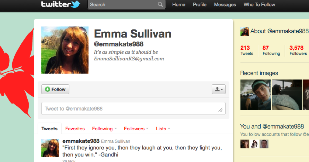 Kansas high school senior Emma Sullivan is feeling the heat after tweeting some negativity about the state governor.</p>