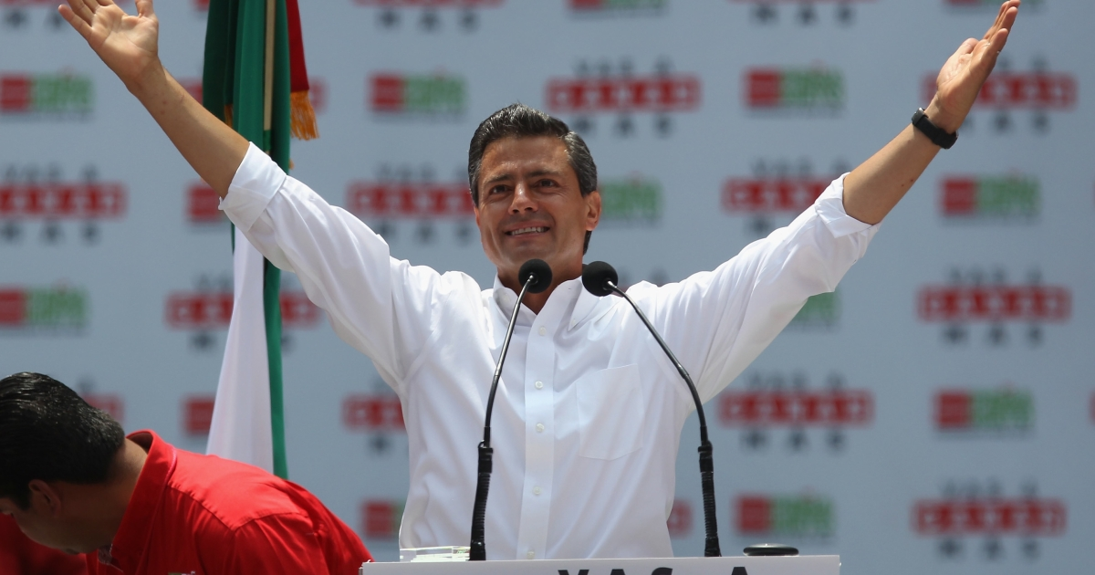 Meet Enrique Pena Nieto, Mexico's new president.</p>