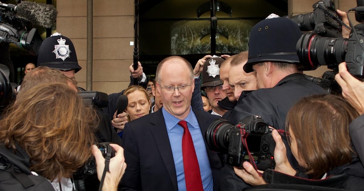 The BBC under fire: Director general George Entwistle.</p>