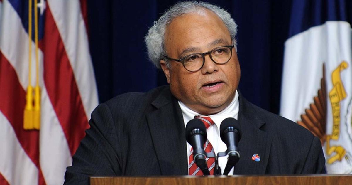 US Global AIDS Coordinator Ambassador Eric P. Goosby</p>