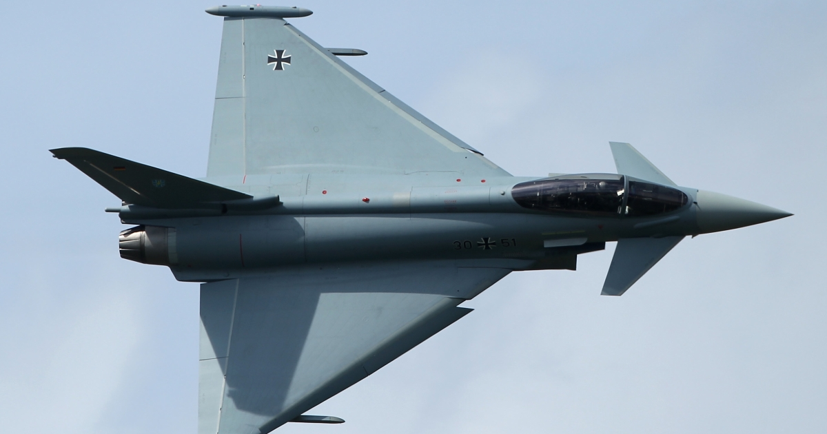 EADS builds the Eurofighter.</p>