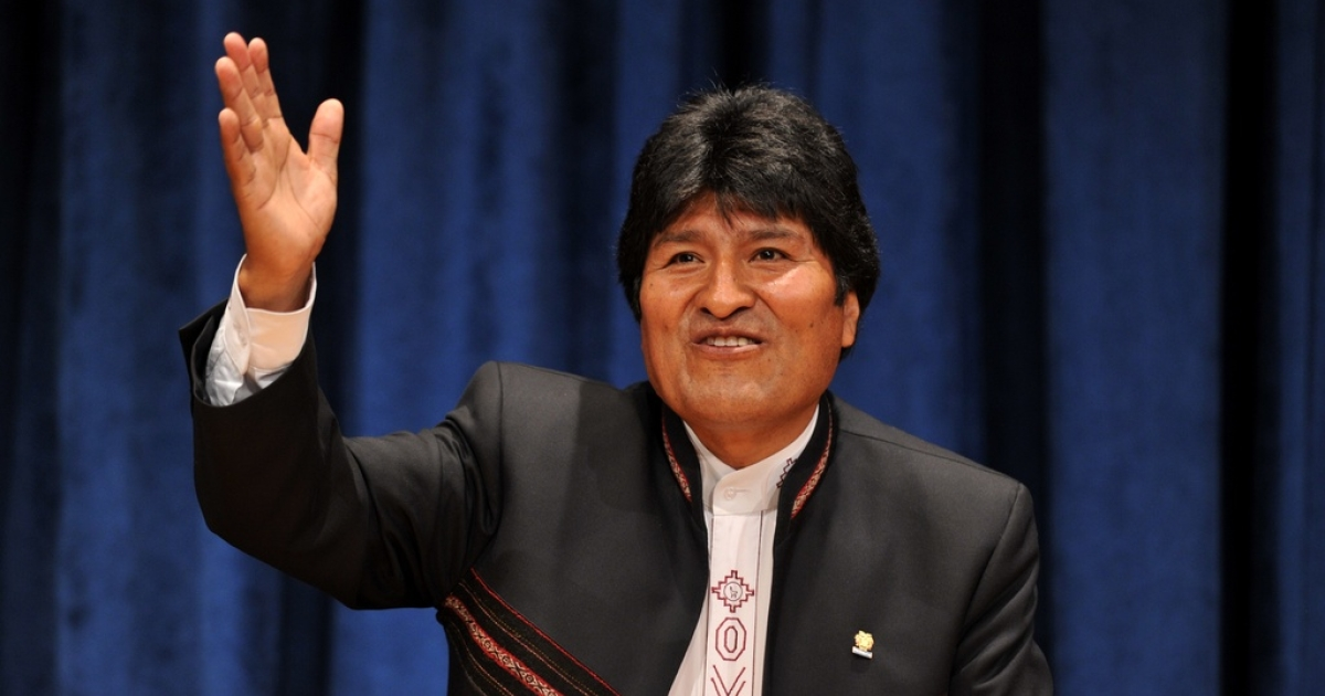 President Evo Morales is tired of his people's protests.</p>
