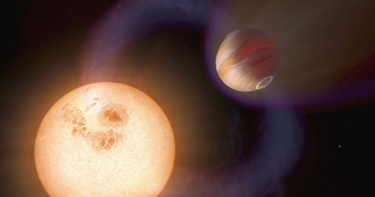 A new exoplanet discovered by the Hubble telescope is made up mostly of water.</p>