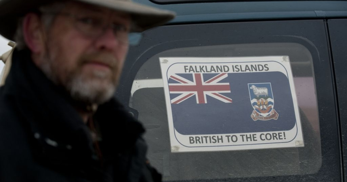 The Falklands government says the referendum is intended to show the world that islanders want to remain part of the UK.</p>