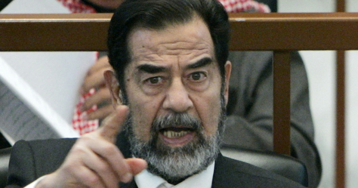 Former Iraqi President Saddam Hussein was in power from 1979 until 2003.</p>