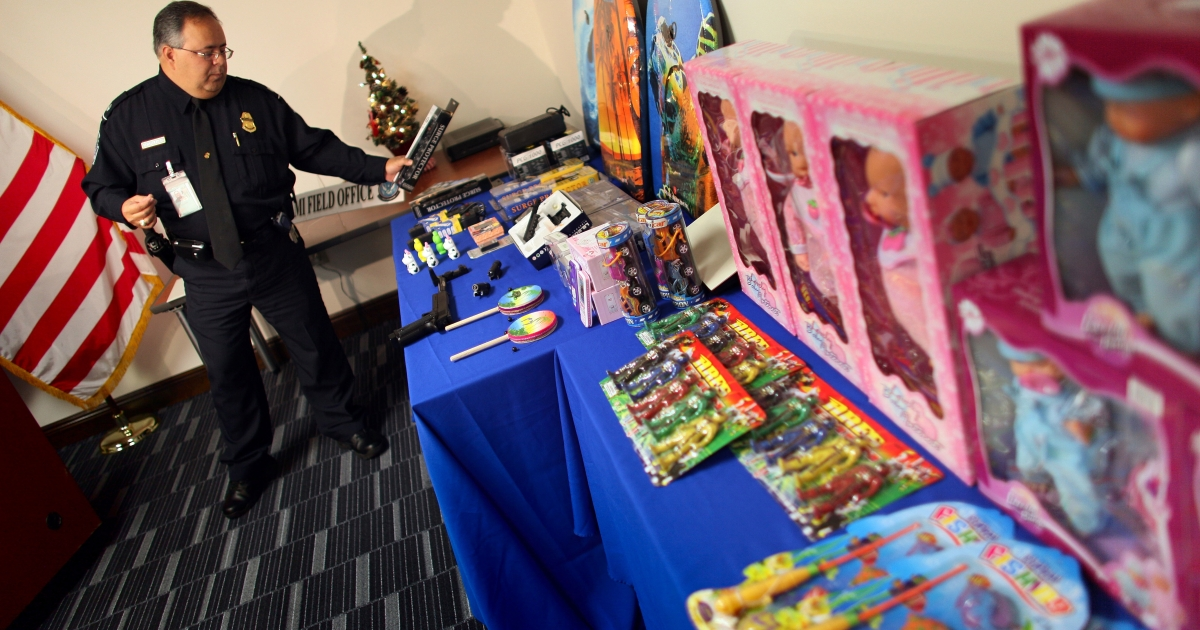Feds seized $76 million in counterfeit goods in Operation Holiday Hoax II.</p>