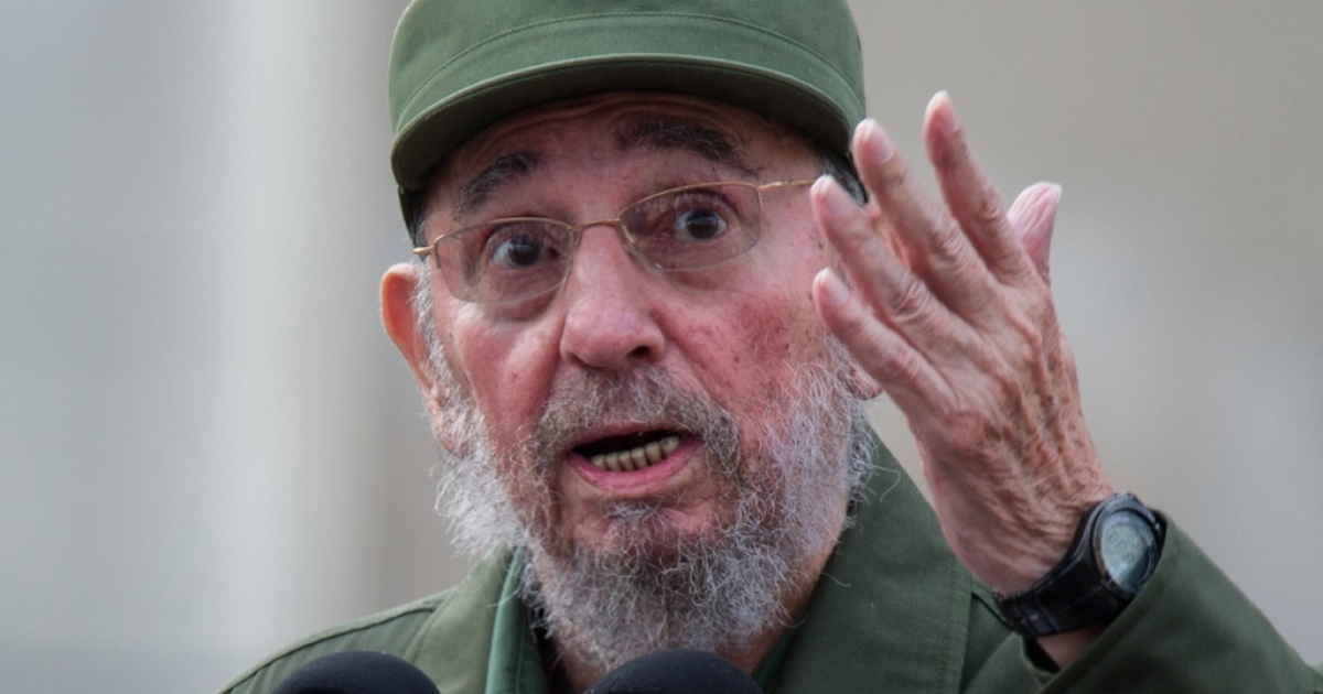 Fidel Castro used a newspaper column to call the Republican Party leadership race a