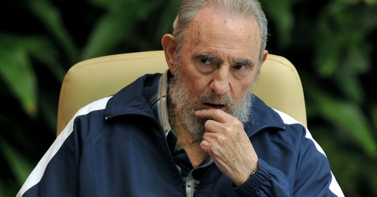 The former Cuban leader</p>
