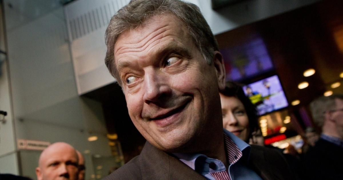 The euro crisis isn't all bad for Finnish President Sauli Niinistö.</p>