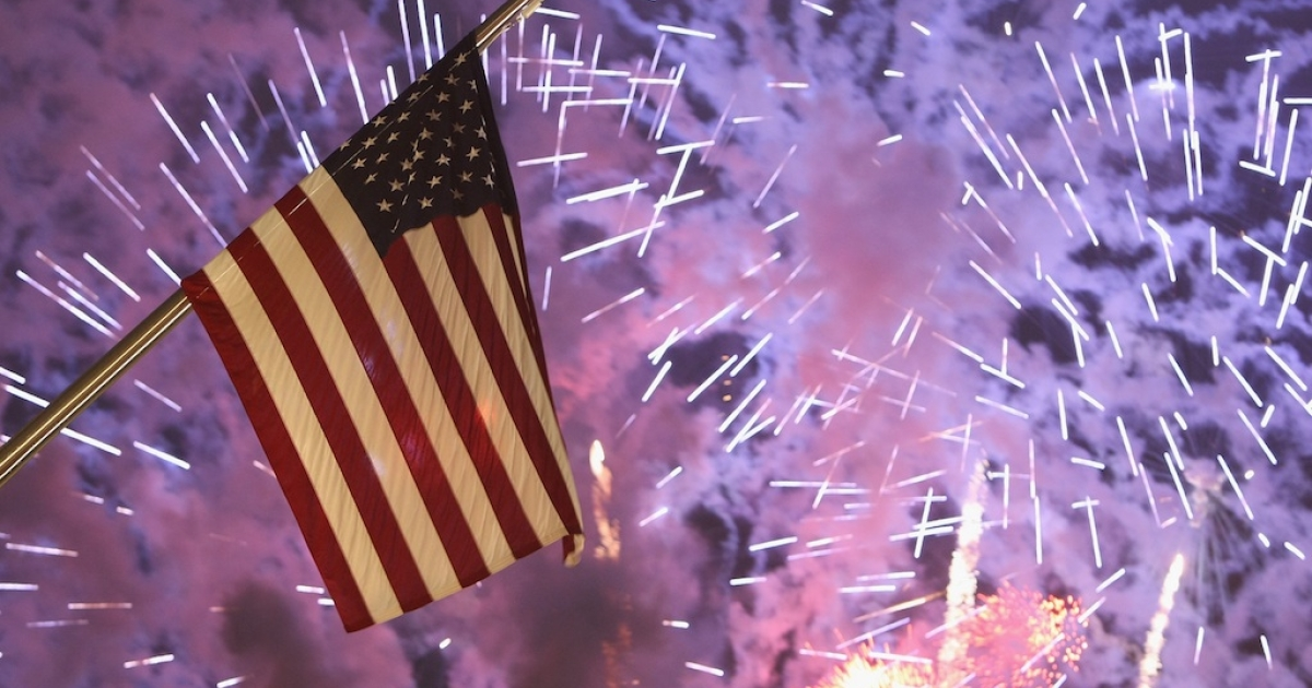 A country's independence is cause for celebration. In the US, firework displays light up the skyline in cities and towns across the country every Fourth of July.</p>