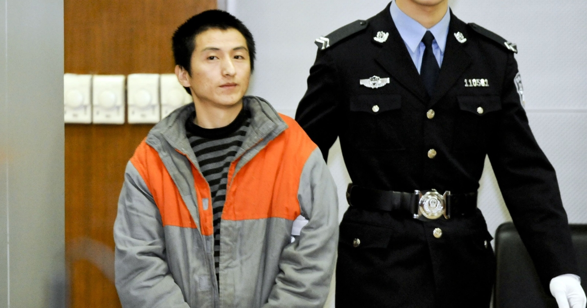 Shi Baikui, a 27-year-old farmer from Shandong, was sentenced by a Beijing court on Monday after pleading guilty at a previous hearing.  He was also fined 13,000 yuan ($2,100).</p>