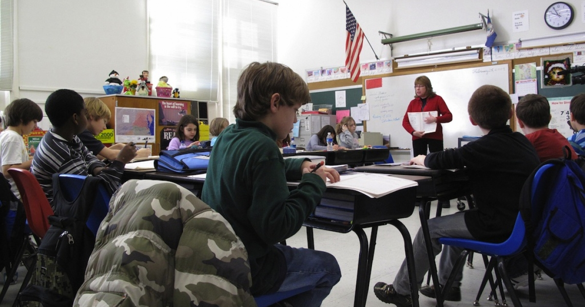American schoolchildren are lagging behind in maths and science.</p>