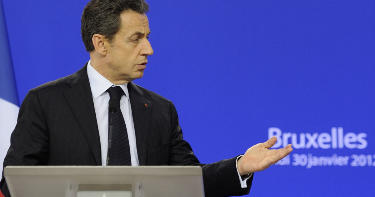 French President Nicolas Sarkozy has yet to sign the controversial bill that would make denying the Armenian genocide a crime.  AFP PHOTO / ERIC FEFERBERG</p>