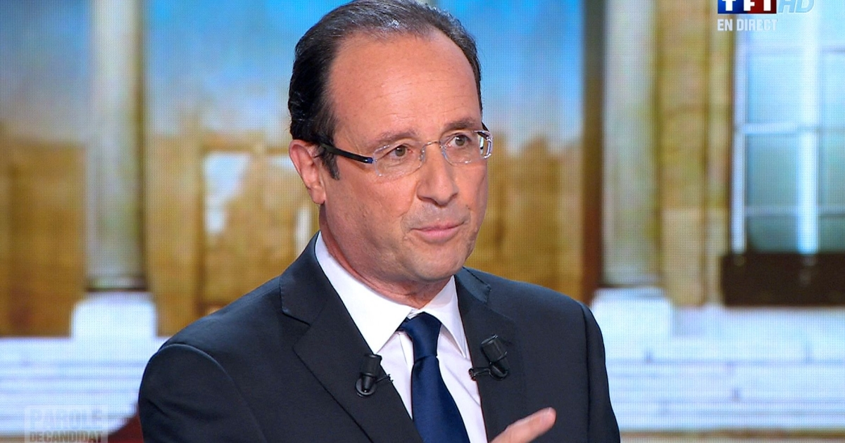 Speaking on prime time television in February, Francois Hollande promised that if elected he would scrap billions of euros of tax breaks enacted by Nicolas Sarkozy that favor the wealthy.</p>