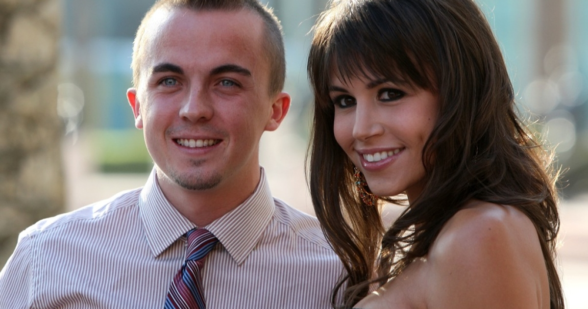 Frankie Muniz arrives at the Academy Of Television Arts & Sciences'