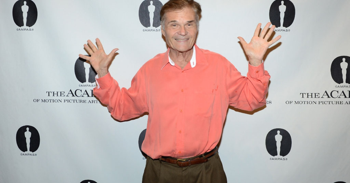 Actor Fred Willard arrives at The Academy of Motion Pictures Arts and Science's