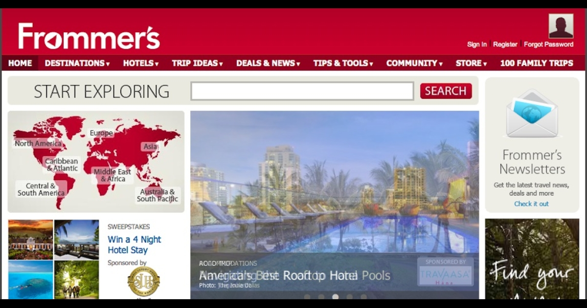 Google has acquired the Frommer's brand, including its guides and website.</p>
