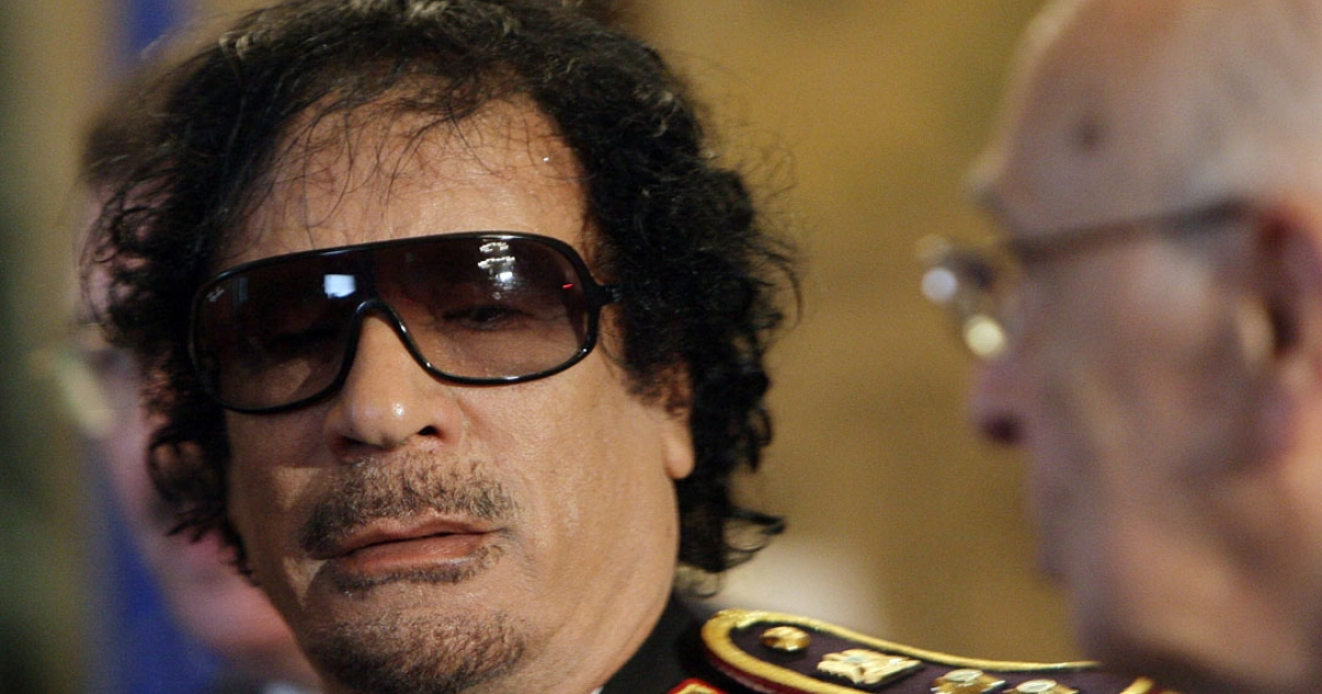 """Democracy means permanent rule."" —Col. Muammar Gaddafi on his decision to stay in Libya.</p>"