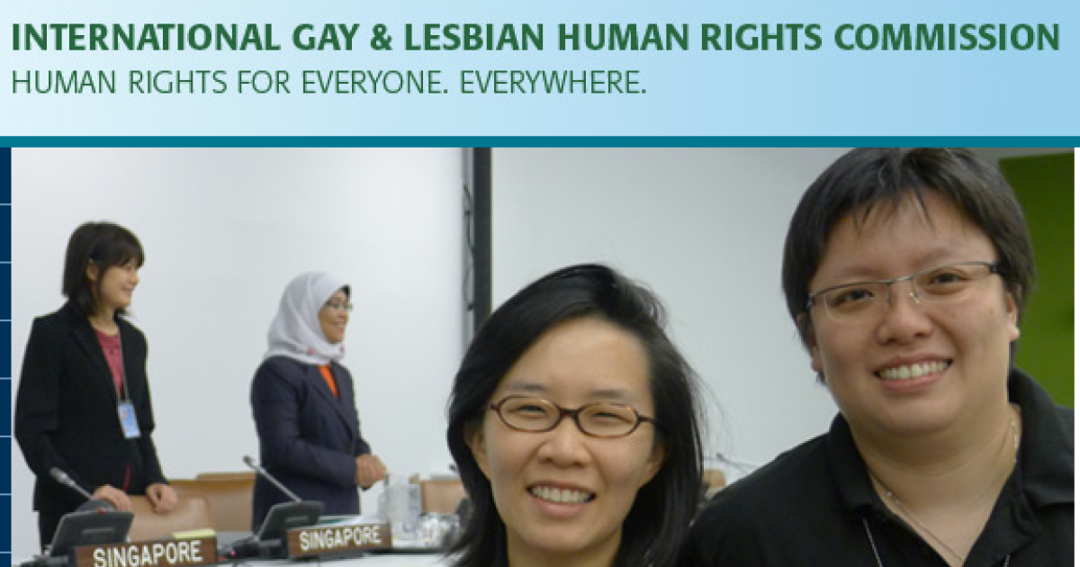 The Web site for the International Gay and Lesbian Human Rights Commission has been deemed pornographic by Indonesia's government and banned.</p>