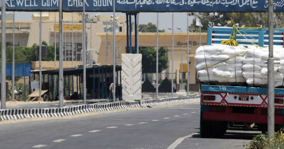 An Israeli blockade imposed on the Gaza Strip in 2007 has crippled the coastal territory's economy.</p>