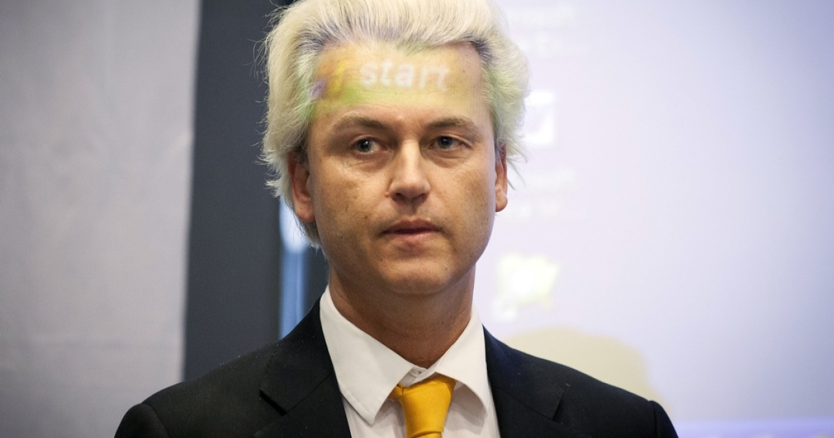 Geert Wilders, head of the Dutch Freedom Party, is trying to get the Netherlands out of the euro and back to the guilder.</p>