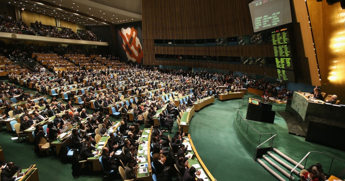 The United Nations General Assembly has passed a resolution to ask the world's nations to implement universal healthcare systems.</p>