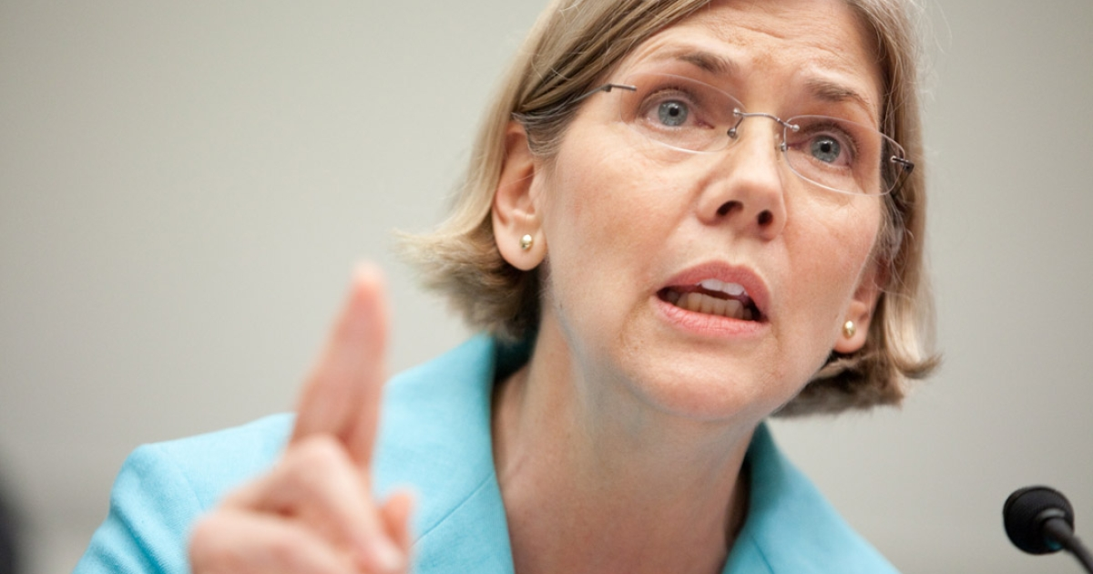 Elizabeth Warren, chairman of the TARP Congressional Oversight Panel, testifies at a hearing on Capitol Hill, on July 22, 2009 in Washington, DC.</p>