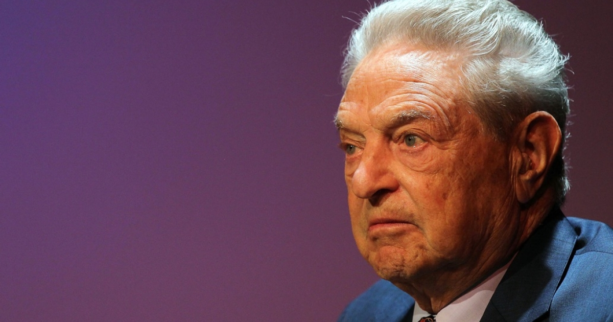 George Soros, founder and chairman of the Open Society Institute and a billionaire investor, attends a forum addressing the global response to the flood in Pakistan at the Asia Society August 19, 2010 in New York City.</p>