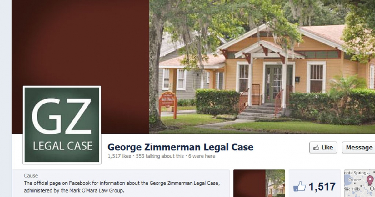 Attorney Mark O'Mara is using Facebook, Twitter and a dedicated website in his defense of George Zimmerman, the man who shot and killed Trayvon Martin.</p>