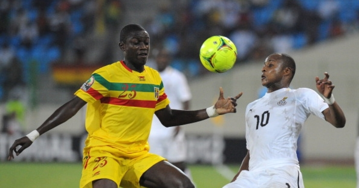Masturbation is a lot like soccer. Why would one stop? Here, Ghana's Andre Ayew (R) vies for the ball with Mali's defender Ousmane Coulibaly during the third-place playoff Africa Cup of Nations football match between Mali and Ghana, in Malabo, on Febuary 11, 2012.</p>