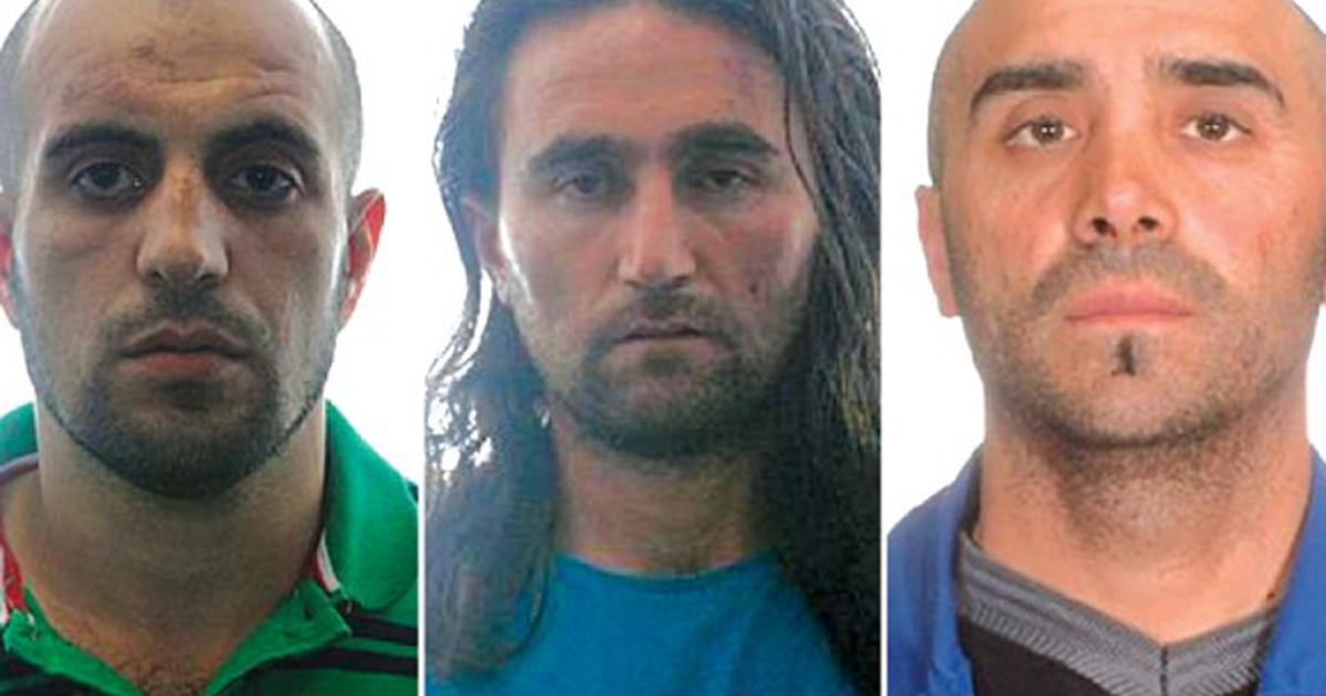 Three suspected Al Qaeda members amassed enough explosives to blow up a bus, and two of them had been learning how to fly before they were arrested Wednesday, Aug. 1, 2012, Spanish authorities said. Police did not release their names, only their initials as AAA and MA of Russia and CY of Turkey.</p>