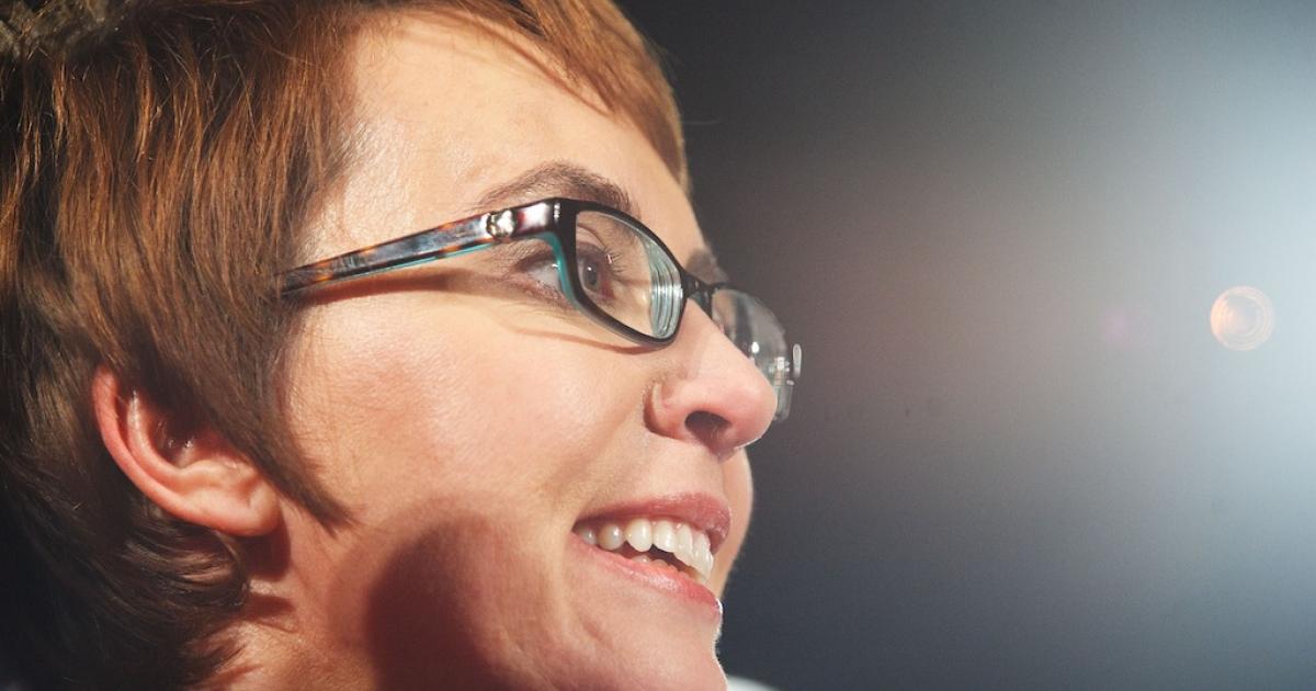 TUCSON, AZ- JANUARY 8: U.S. Rep. Gabrielle Giffords (D-AZ) smiles during the