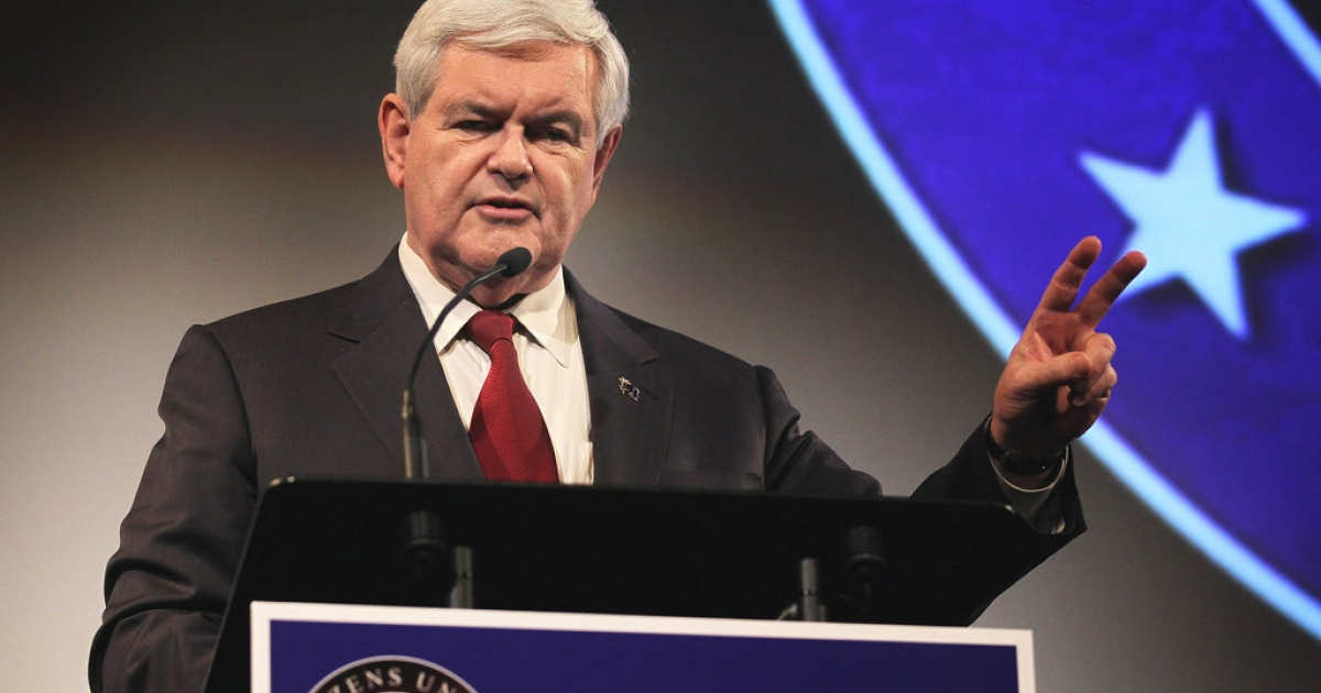 Republican presidential candidate Newt Gingrich comes in for serious criticism for having his head too much in the 18th century and not the 21st.</p>