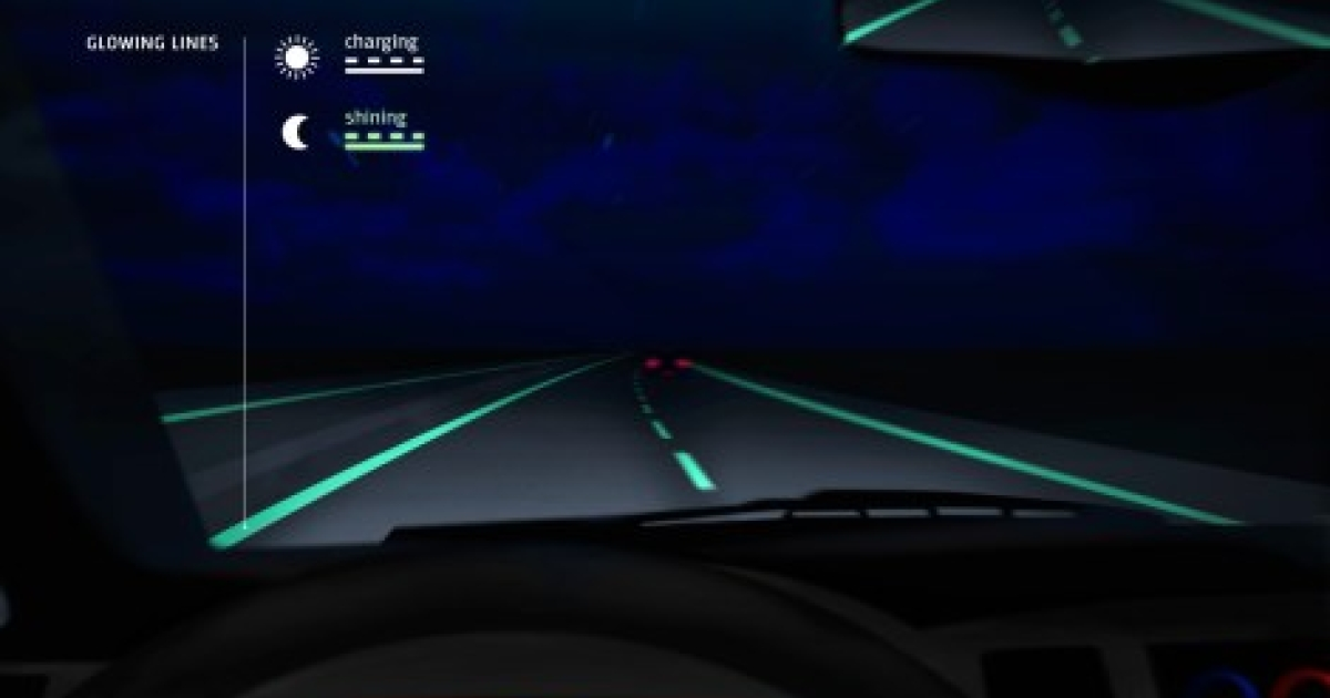 Scientists in the Netherlands are betting on the increasing use of the glow in the dark highway.</p>