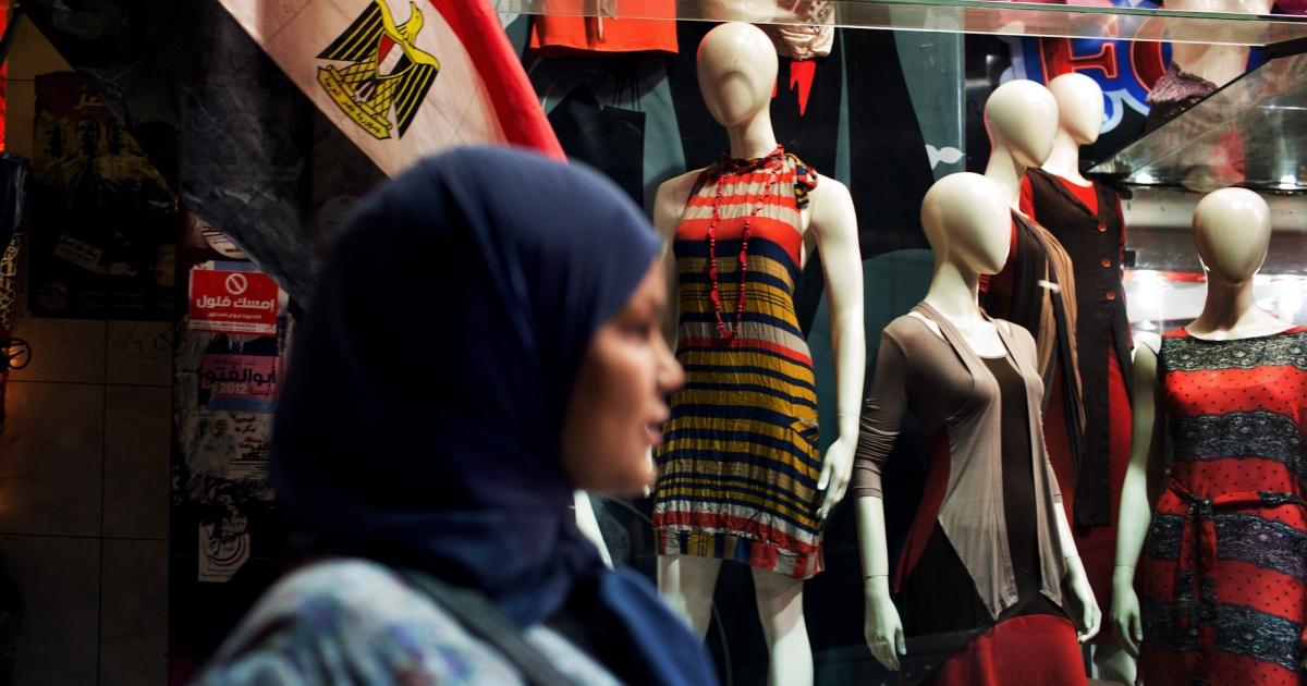 Samira Ibrahim in Cairo, Egypt in May 2012.</p>
