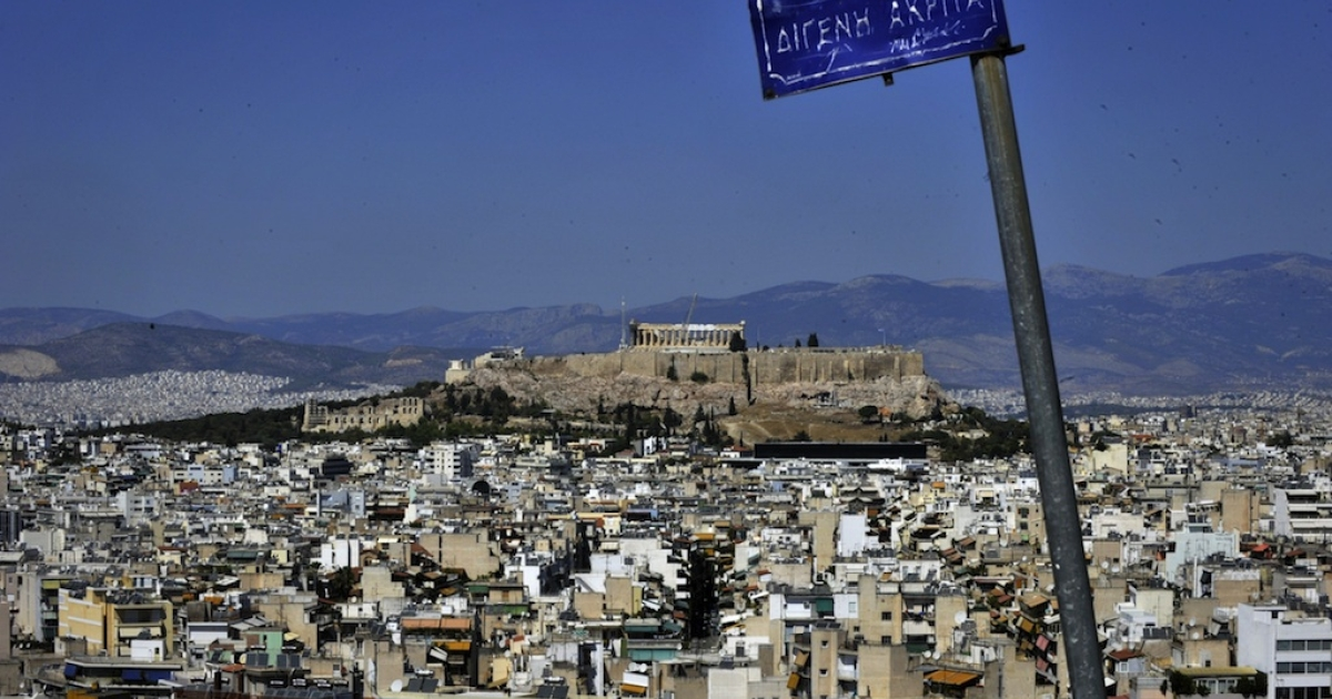 Athens, Greece.</p>