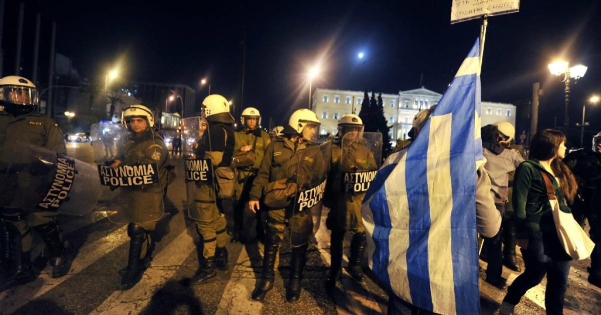 Expect riots in Greece.</p>
