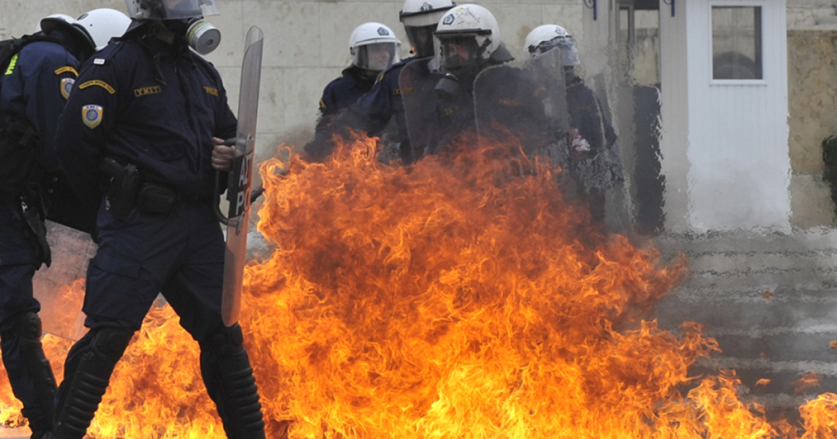 The rioting has calmed down in Athens but negotiations on the Greek bail-out aren't going so well.  This week is crunch time and depnding on what's decided the streets may catch fire again.</p>