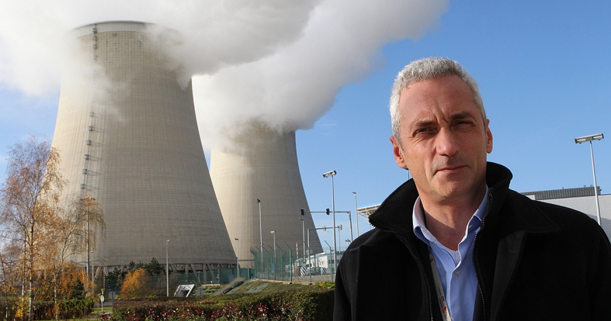 The director of the nuclear plant in Nogent-sur-Seine, French Herve Maillart. Maillart's plant is one of the sites Greenpeace activists managed to sneak into during their mission to expose security flaws.</p>