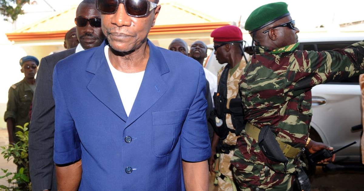 The home of Guinea President Alpha Conde, whose election in late 2010 ended decades of dictatorship and military rule, was attacked by armed assailants last July.</p>